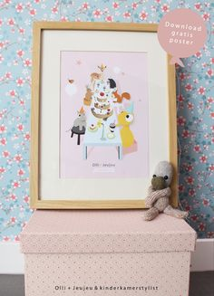 #Free #Download #printable #poster #kids | Olli en Jeujeu & Kinderkamerstylist