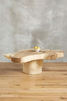 Live-Edge Coffee Table - anthropologie.com