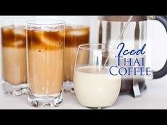 Peoples always want to make some delicious recipes with coffee right? Learn 39 easy creamy iced coffee recipes for exciting summer Thai Iced Coffee, Easy Coffee, Coffee Mousse, Coffee Cream, Coffee Drink Recipes, Coffee Drinks, Best Homemade Ice Cream, Tatyana's Everyday Food, Summertime Drinks