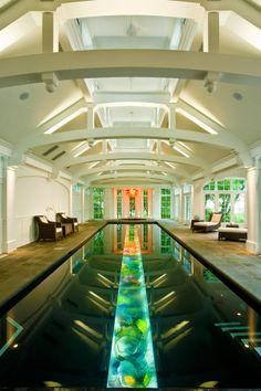 Glass Bottom Lap Lane Pool, Michigan United States