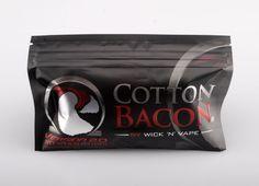 Coton spécifiquement conçu pour les vapoteurs, à la capillarité exceptionnelle. Cette nouvelle version du Cotton Bacon apporte son lot d'innovations.
