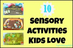 Frogs & Snails & Puppy Dog Tails (FSPDT): 10 Sensory Play Activities Kids Love