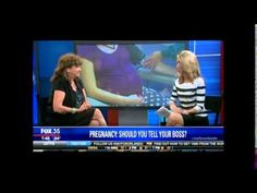 Dr.Mimi Speaks on Pregnancy and the Workplace on Fox 35 News.