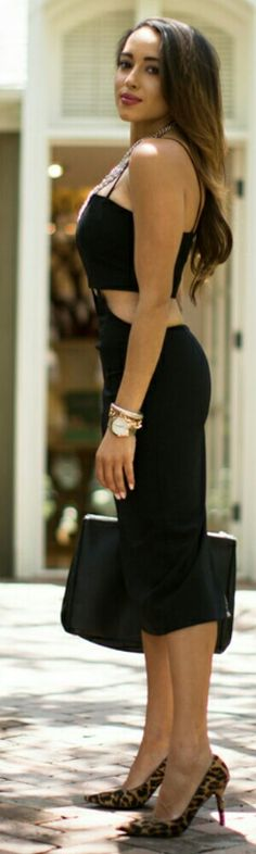 Little Black Dress / Fashion by A Keen Sense of Style
