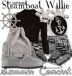 Fashion Inspiration: Walt Disney Steamboat Willie