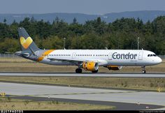 Photo of D-AIAF - Airbus A321-211 - Condor Condor, Photo Online, Baltimore, Airplanes, Aviation, Jet, Washington, Aircraft, Commercial