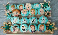 Frozen all characters cookies