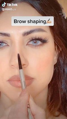Eyebrow Makeup Tips, Makeup Eye Looks, Eye Makeup Steps, Natural Eye Makeup, Skin Makeup, Natural Makeup Products, Makeup Eyeshadow, Maquillage On Fleek, Makeup Looks Tutorial