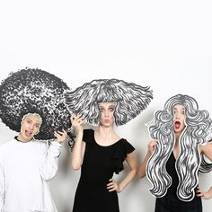 HAIRSTORY STUDIO Avenue New York Ein künstlerisches Engagement immer auffällig nie erfunden angeheftet von Ton van der Veer 5th Avenue New York, Photo Booth Props, Photo Booths, Salon Design, Party Photos, Art Club, Art Plastique, Art Lessons, Art For Kids