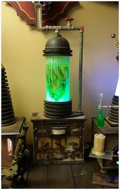 Frankenstein Laboratory Props