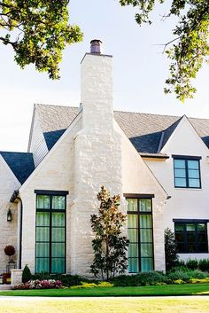 """exterior stone """" cottonwood"""" roof:  certaineed Independence shingle in Colonial Slate"""