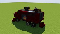 Minecraft Car, Minecraft Projects, Minecraft Designs, Minecraft Architecture, Minecraft Buildings, Fantasy Witch, Steampunk House, Car Carrier, Drilling Rig