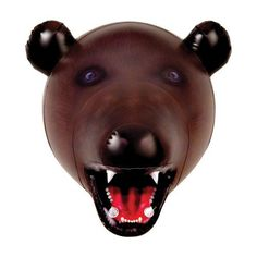 Big Mouth Toys Inflatable Bear Head by Big Mouth Toys. $12.99. A great conversation piece for the home or office. Inflatable Animal Heads make excellent gag gifts for both hunters and animal lovers. Made of durable vinyl, and packaged in colorful attractive packaging. From the Manufacturer                Big Mouth Toy's exclusive line of Inflatable Animal Heads make excellent gag gifts for both hunters and animal lovers. Made of durable vinyl.                   ...