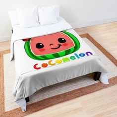 'Cocomelon songs for kids' Comforter by StefaniaAlina Kids Comforters, College Dorm Rooms, Kids Songs, Square Quilt, Twin Xl, Quilt Patterns, Bed Pillows, Pillow Cases, Printed