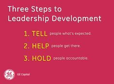 3 Steps to Leadership Development