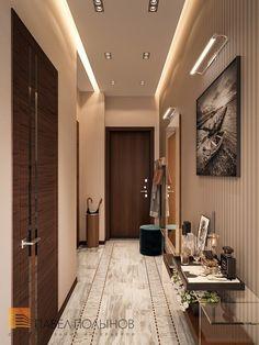 Фото холл из проекта «Дизайн интерьера трехкомнатной квартиры 127 кв.м., ЖК «Парадный квартал», современный стиль»