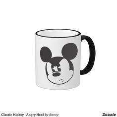 Classic Mickey | Angry Head Ringer Mug