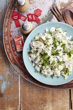 Blue Cheese Potato Salad I love blue cheese