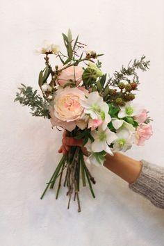 Valentine's bouquet local flowers ; Gardenista