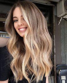 Hair Color And Cut, Level 7 Hair Color, Ombre Hair Color, Hair Dos, 50 Hair, Curly Hair, Short Hair, Balayage Hair, Blonde Bayalage