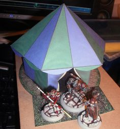 Papercraft Tent for Longest Night