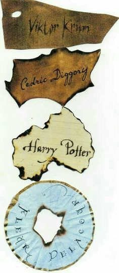 Viktor Krum, Cedric Diggory, Harry Potter, and Fleur Delacour papers that Goblet of Fire spat Harry Potter World, Harry Potter Dragon, Magie Harry Potter, Harry Potter Movie Posters, Harry Potter Goblet, Theme Harry Potter, Mundo Harry Potter, Harry Potter Aesthetic, Harry Potter Love