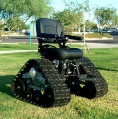 All terrain wheel chair that's cool!