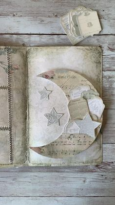 Print & craft these sweet moon and star pocket inserts for your junk journal or other craft project. From My Porch Prints (MPP) on Etsy. Junk Journal, Art Journal Pages, Bullet Journal Books, Journal Covers, Art Journals, Journal Cards, Diy Journaling Cards, Fabric Journals, Notebook Covers