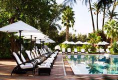 La Mamounia hotel in Marrakech, Morocco