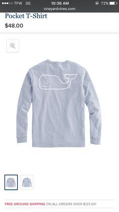 Grey Vineyard Vine long sleeve T-Shirt.