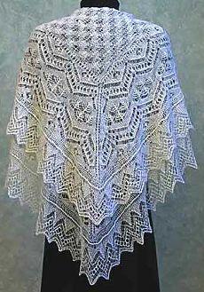shetland lace knitting - Google Search