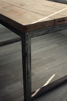 coffee table LOFT industrial
