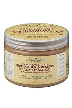Shea Moisture Jamaican Black Castor Oil Strengthen/Grow and Restore Treatment Masque, 326 ml
