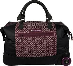 Pack and go in style with this awesome Sherpani bag