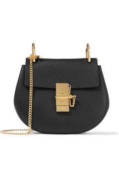 Black textured-leather (Lamb), beige suede (Calf) Pin and clasp-fastening front flap Comes with dust bag Weighs approximately 2.2lbs/ 1kg Made in Italy