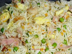 ARROZ TRES DELICIAS Arroz Frito, Dominican Food, Paella, Potato Salad, Food And Drink, Eat, Cooking, Ethnic Recipes, Kitchen