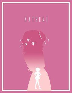 Anime Art | Doki Doki Literature Club | Natsuki