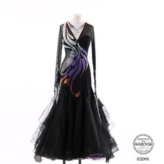 Main Product Image Ballroom Costumes, Latin Ballroom Dresses, Big Size Dress, Dance Accessories, Dance Fashion, Skating Dresses, Costume Dress, Dance Outfits, Dance Wear