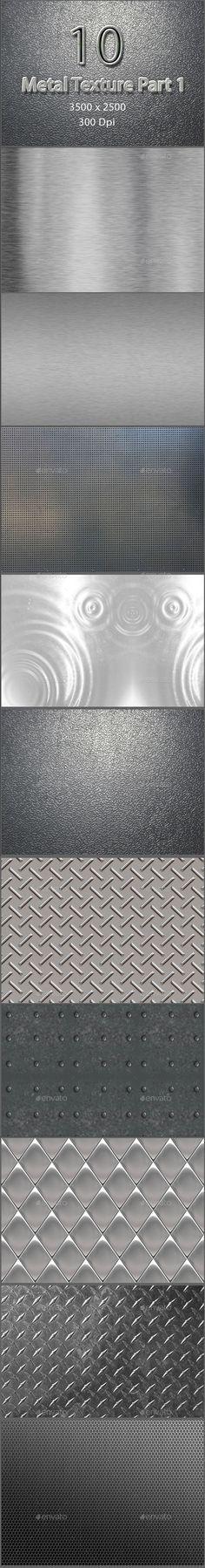 10 Metal Texture Part 1