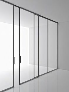 Detail - Black Frame Doors