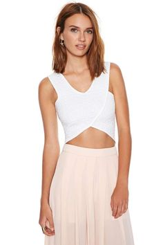 Balancing Act Crop Top