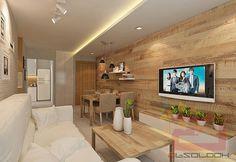 HDB BTO 4-Room Scandinavian @ Blk 308A Punggol Waterway Terraces I - Interior Design Singapore