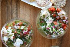 Snapper Ceviche with Chiles and Herbs Recipe