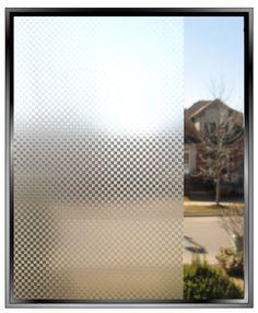 Graphite Mesh Decorative Privacy Window Film