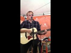 """Geoff Rickly plays the Thursday classic """"Standing on the Edge of Summer"""" live at the acoustic basement tent on Warped Tour in Mansfield, MA. Warped Tour, Im Crazy, Acoustic, Thursday, Musicals, Music Instruments, Summer, Musical Instruments, Summer Time"""