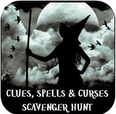 Printable Halloween Scavenger Hunts