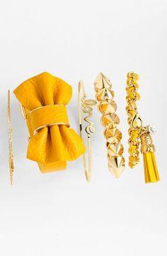 bright bangles #yellow
