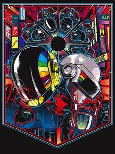 Exposition ReDiscovery à San Francisco rendant hommage aux Daft Punk