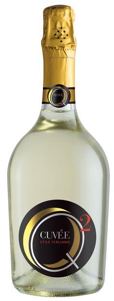 Cuvée Spumante Q2 - Viticoltori Ponte #etichette_vino #Francescon #Collodi