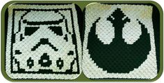 Crochet Pattern - Alliance Starbird & Stormtrooper for the ultimate fan in your life!